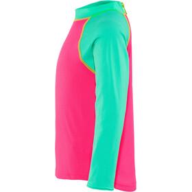Zoggs Sea Unicorn Sun T-shirt manches longues avec demi-zip Enfant, pink
